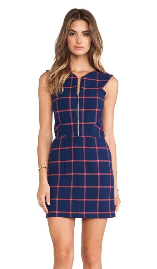 Zip Front Cutout Back Dress