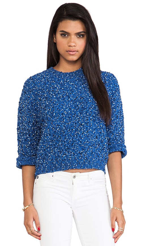Marled Slouchy Shirt