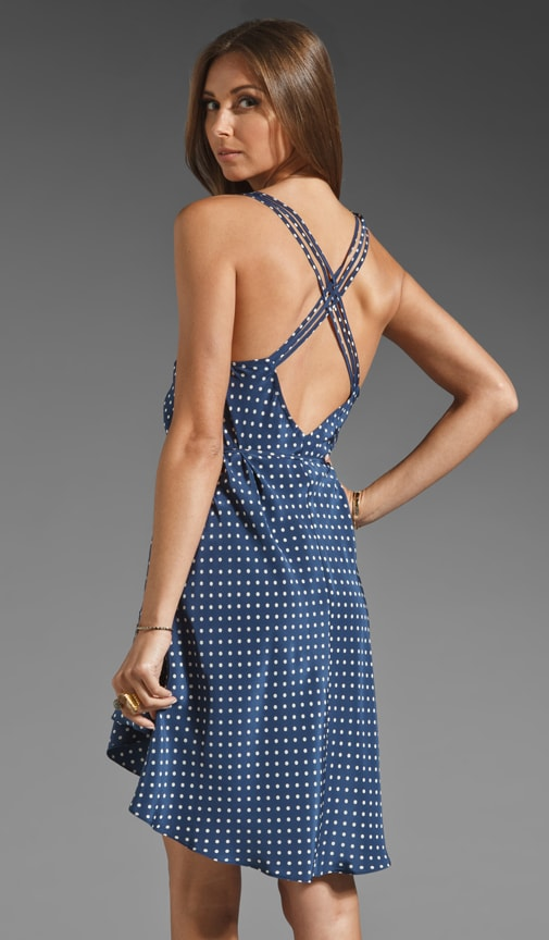 Multi Strap Weave Dress