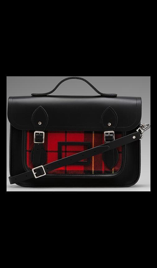 Designer Tartan 13'' w/ Plaid Front
