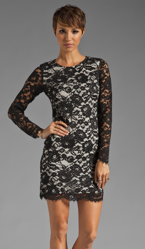 Galician Marique Floral Lace Dress