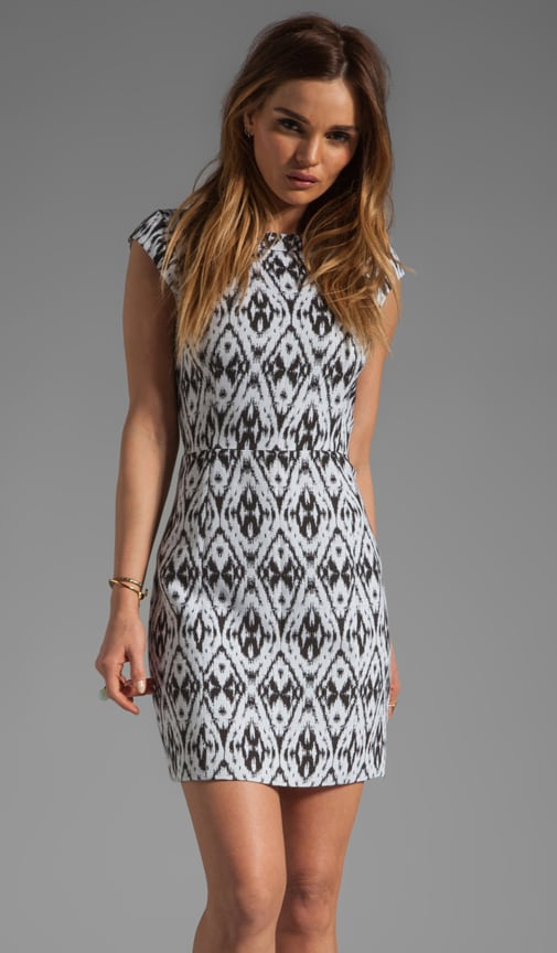 Andes Orinthia Graphic Jacquard Dress