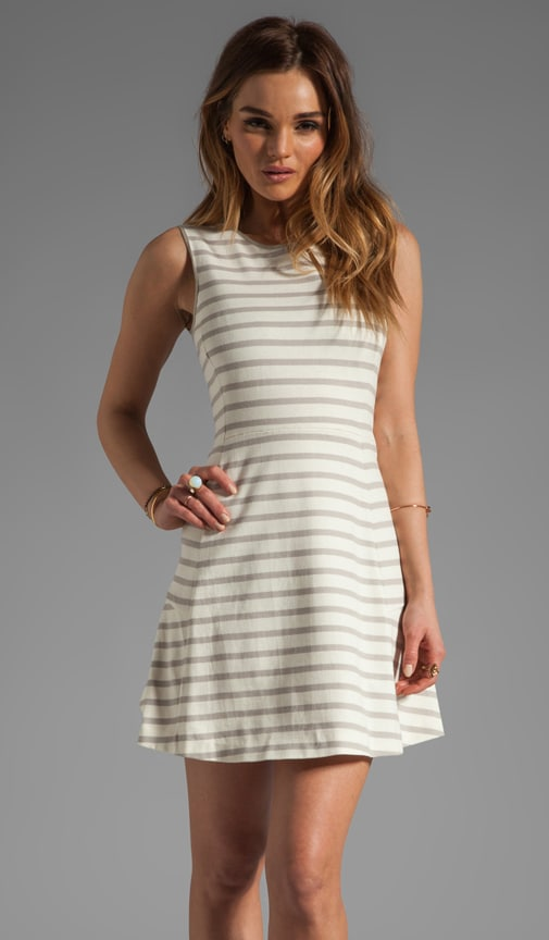 Nyos Nikay B Striped Dress