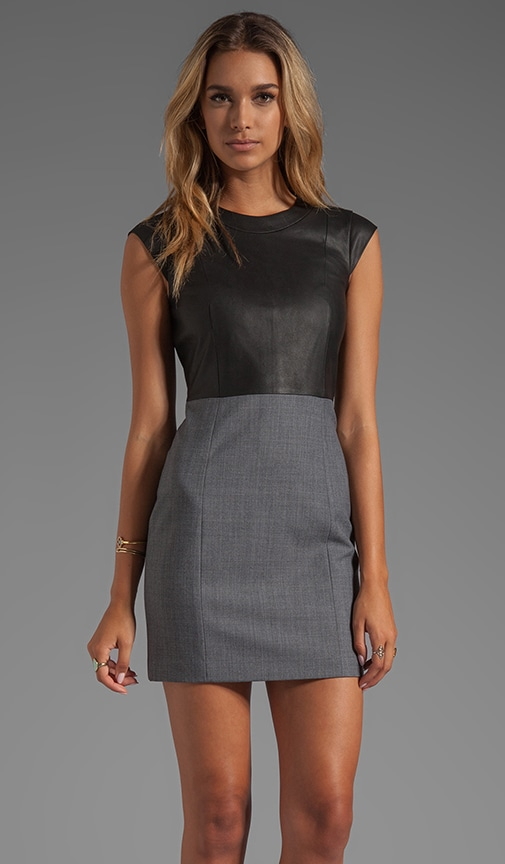 Orinthia C Dress with Leather