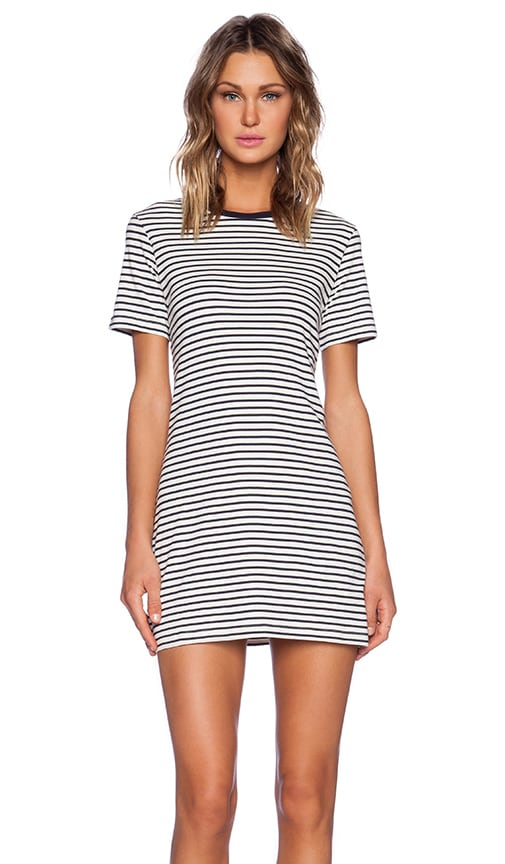 Cherry Classic Stripe Tee Dress