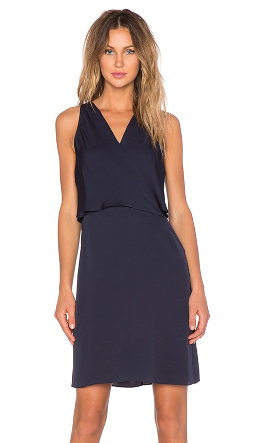 Theory Osteen Dress in Navy