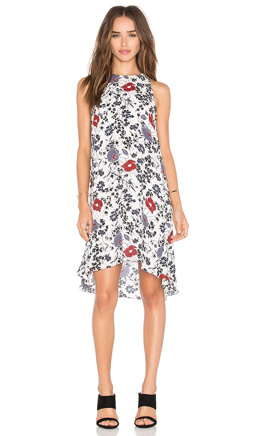 Theory Adlerdale SL Dress in White