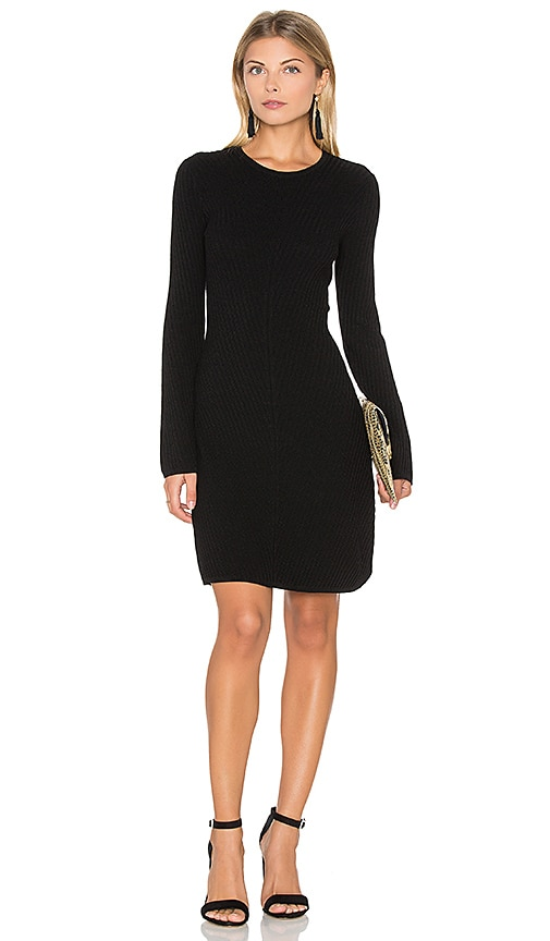 Theory Ardesia Dress in Black