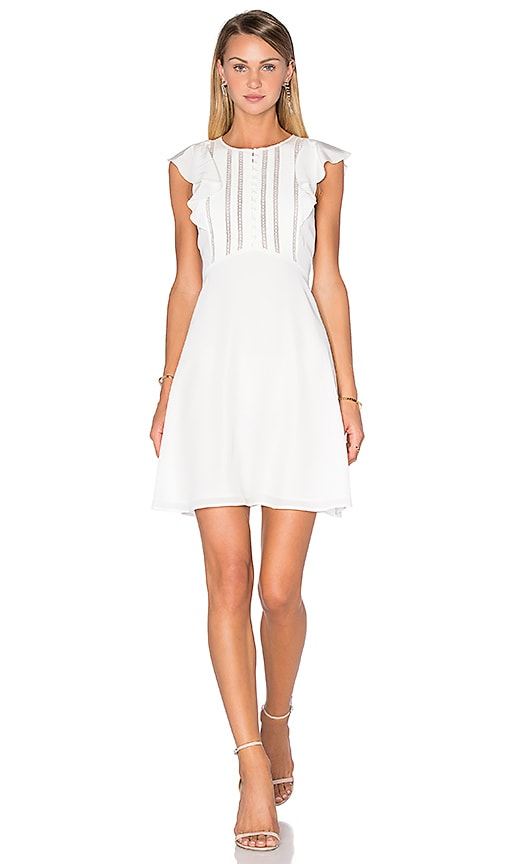 Theory Deorsa Dress in Ivory