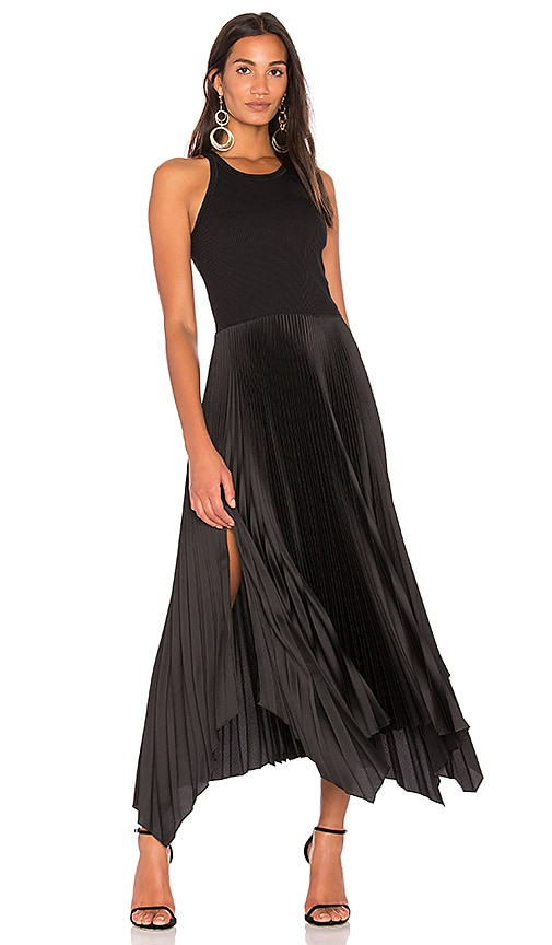 Theory Vinessi Dress in Black