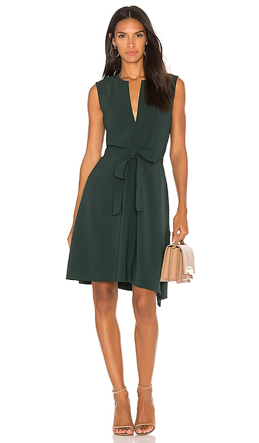 Theory Desza Dress in Green