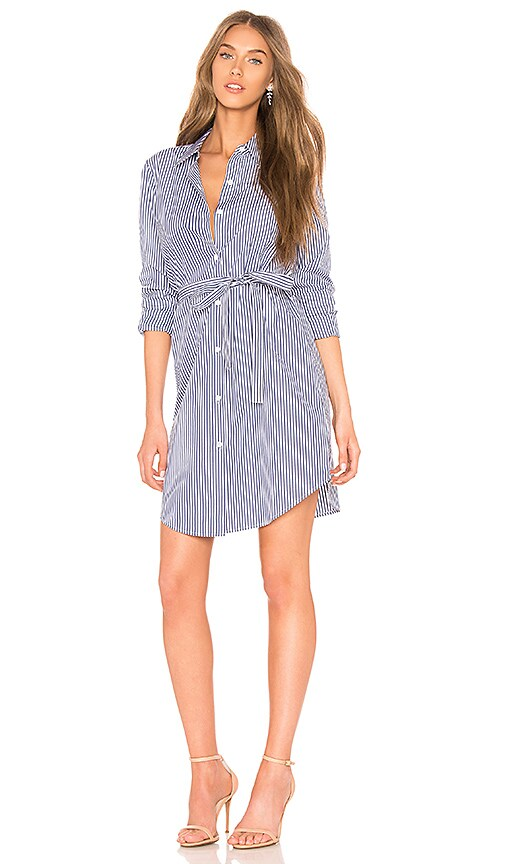 Theory Clean Shirtdress in Blue