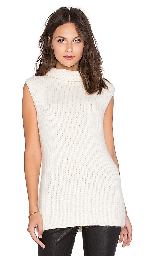 Theory Vandrona Sweater in Ivory