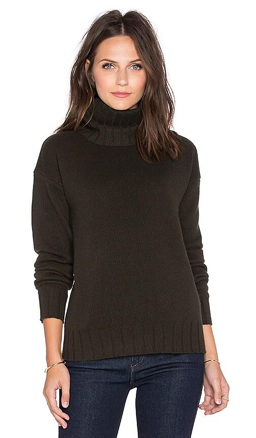 Theory Lanola Sweater in Dark Army
