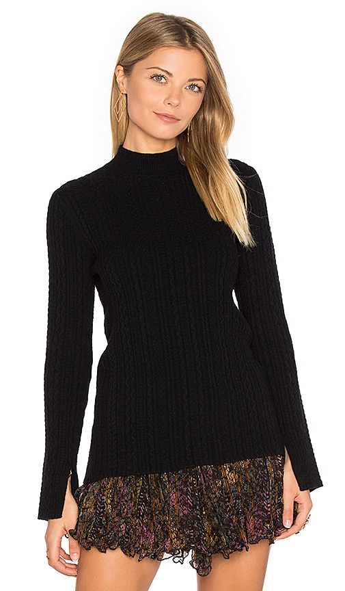 Theory Friselle Sweater in Black
