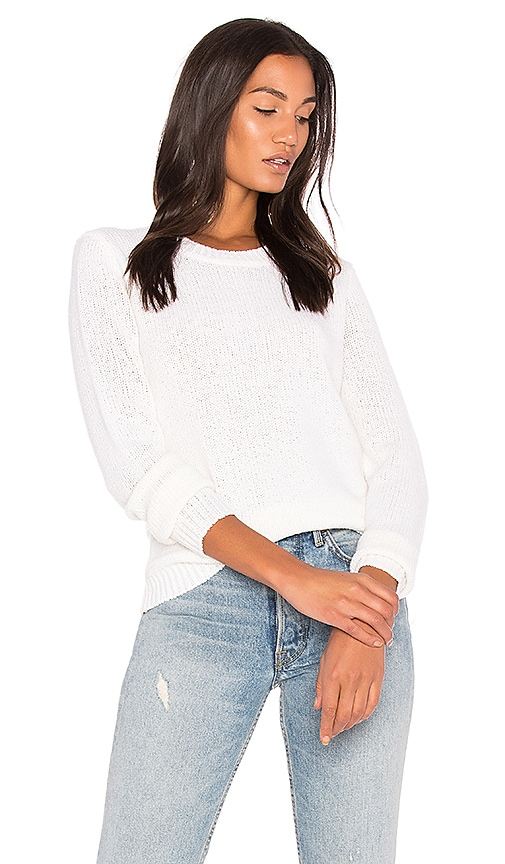 Theory Yulia Sweater in Ivory