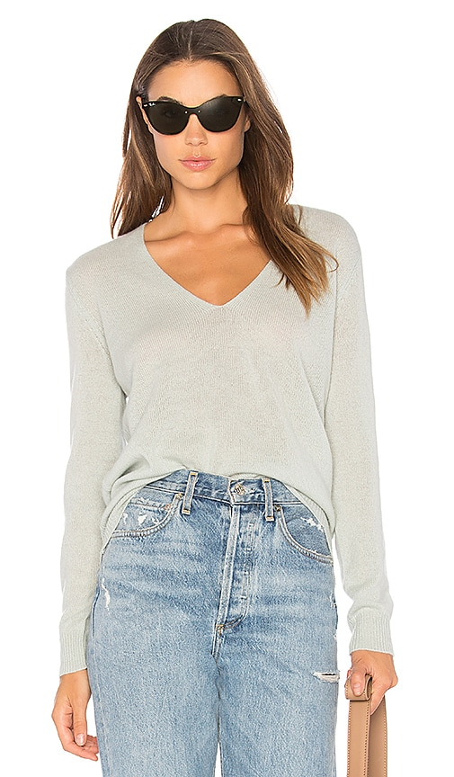 Theory Adrianna RL Sweater in Mint