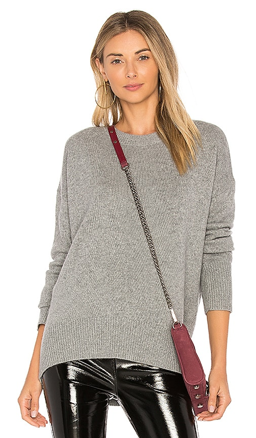 Theory Karenia F Sweater in Gray