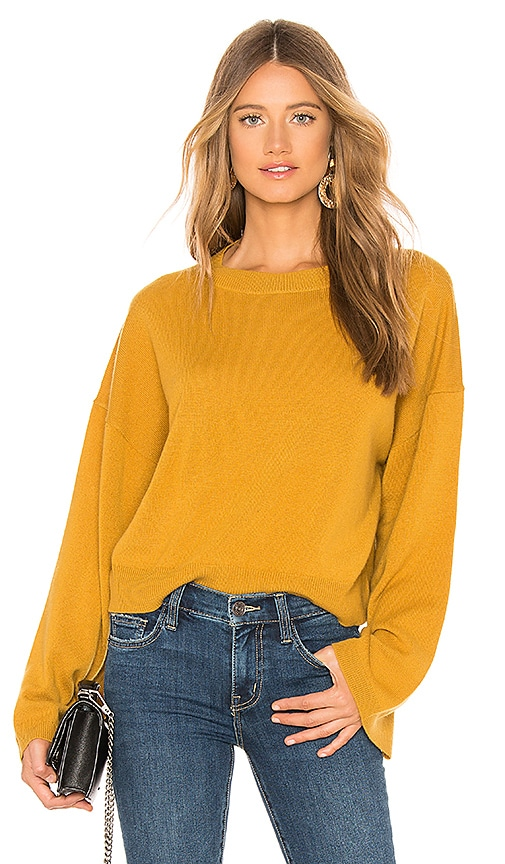 fe78194549 Theory Wide Sleeve Cashmere Sweater in Dijon