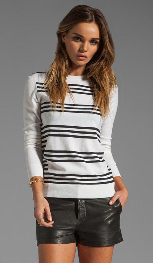 Evian Stretch Tommie FS Striped Sweater
