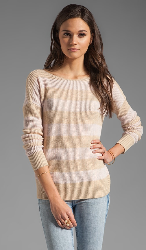 Cashmere Jilliane S Striped Sweater