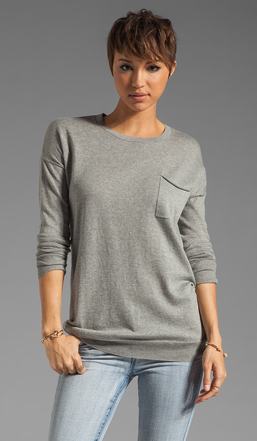 Cashmere Blend Tollie Pocket Sweater