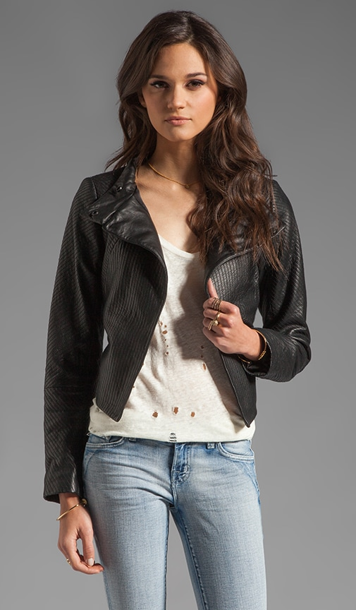 Thoroughbred Leather Embry Jacket