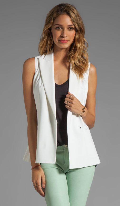 Caledon Annea Wool Twill Vest