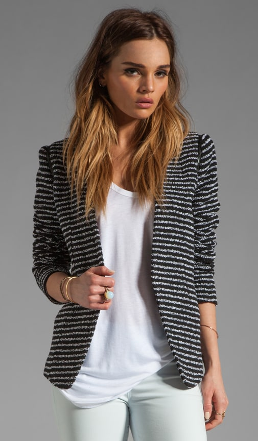Purposeful Stripe Yaisa Z Jacket