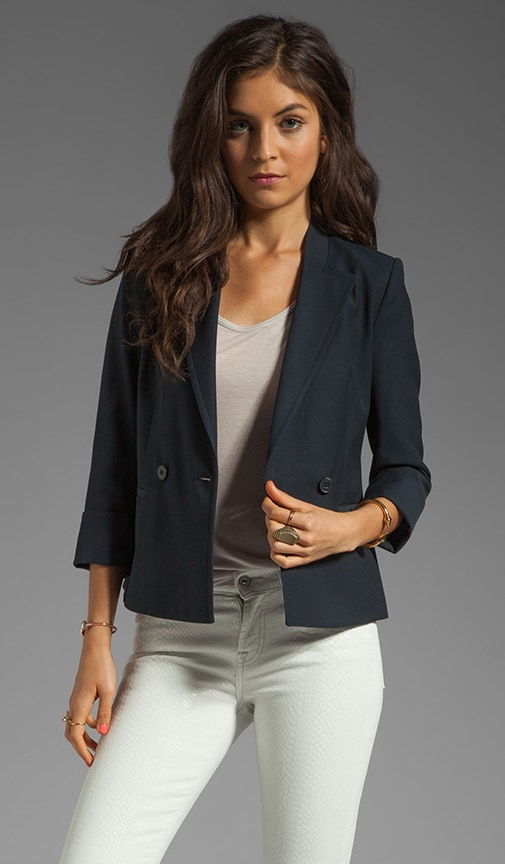 Jubilee Bastian Structured Cotton Blazer