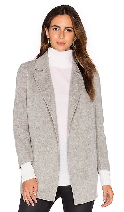 Theory Clairene Coat in Gray