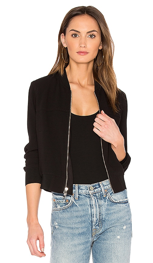 Theory Daryette B Bomber in Black
