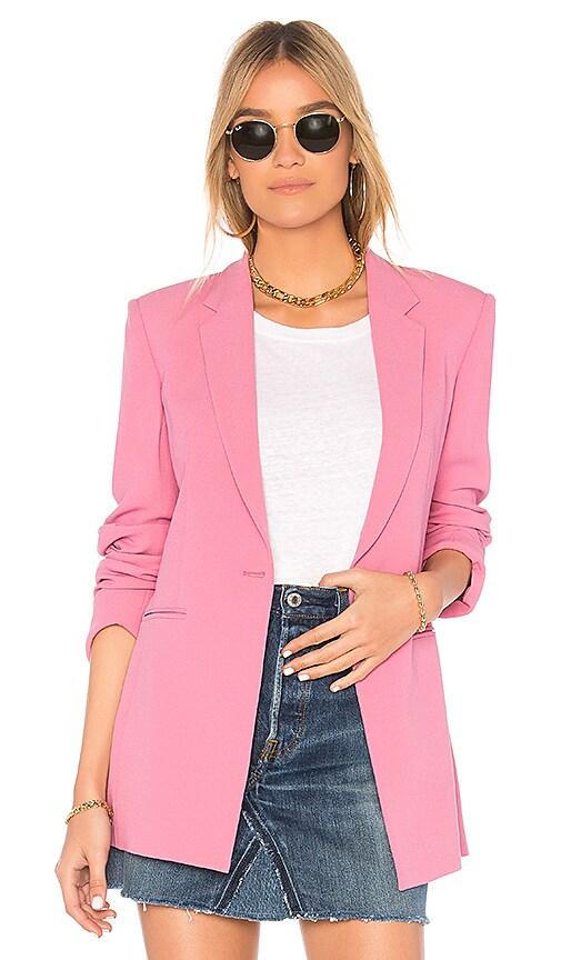 Theory Power 2 Blazer in Pink