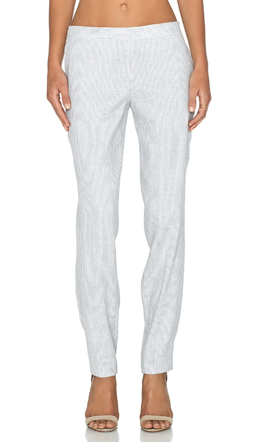Theory Termin Pant in White & Denim