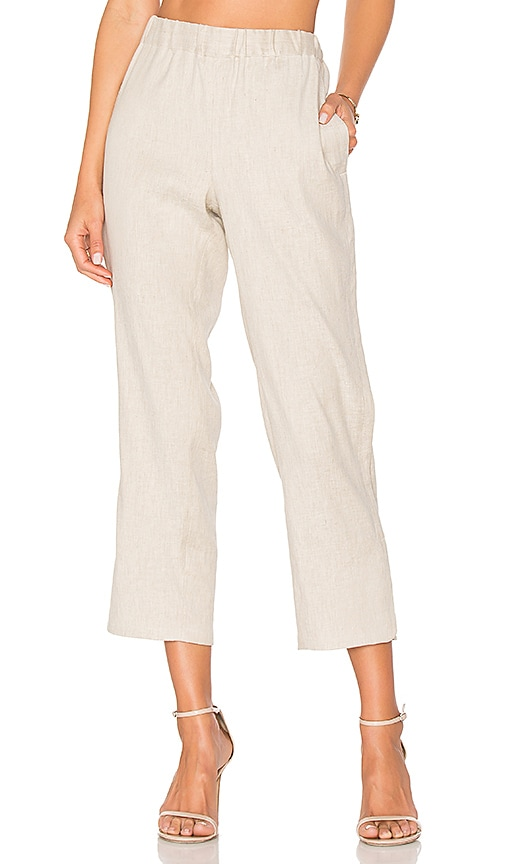 Theory Thorina Pant in Taupe
