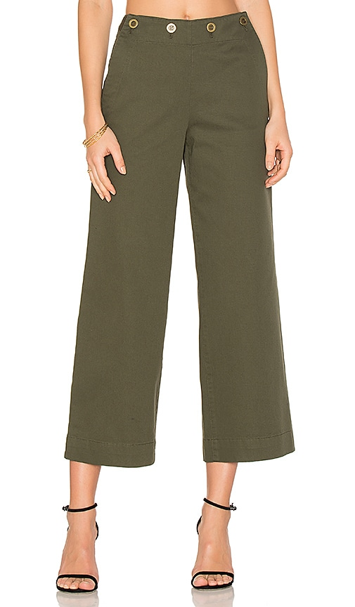 Theory Namid TS Pant in Green