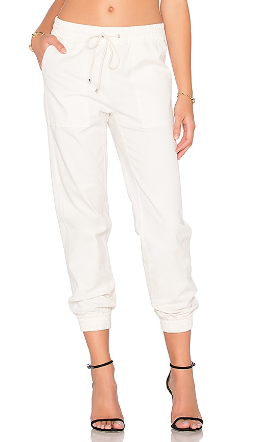 Theory Cortland T Pant in Ivory