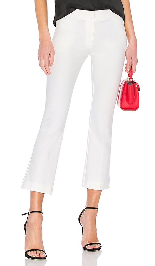 Theory Kick Pant in White