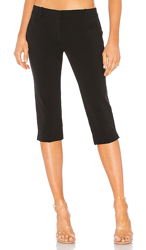 Theory Basic Capri Perform Pant in Black