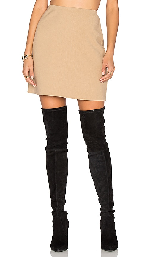 Theory Irenah Skirt in Tan