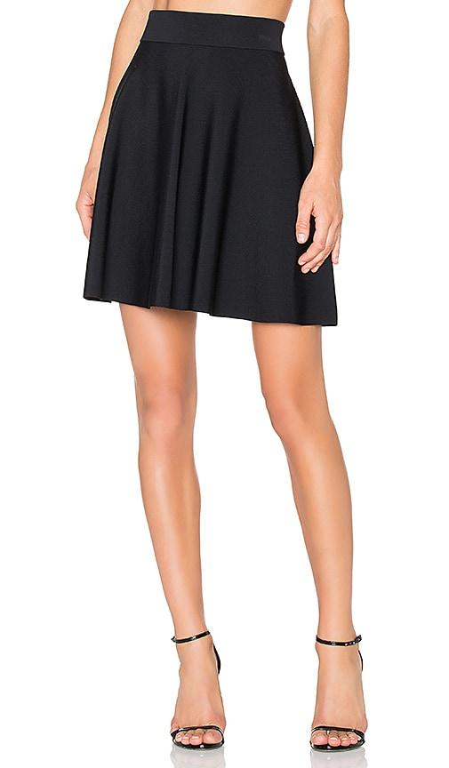 Theory Doritta Skirt in Black