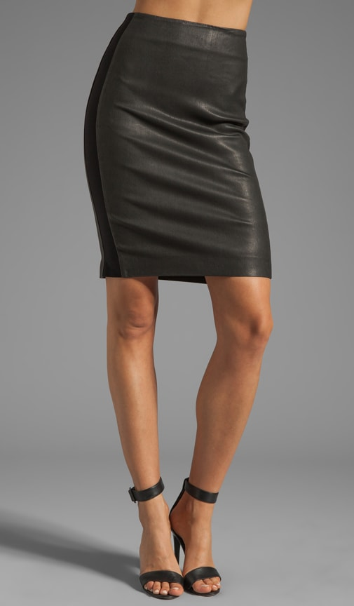 Danish Brookelle Leather Skirt