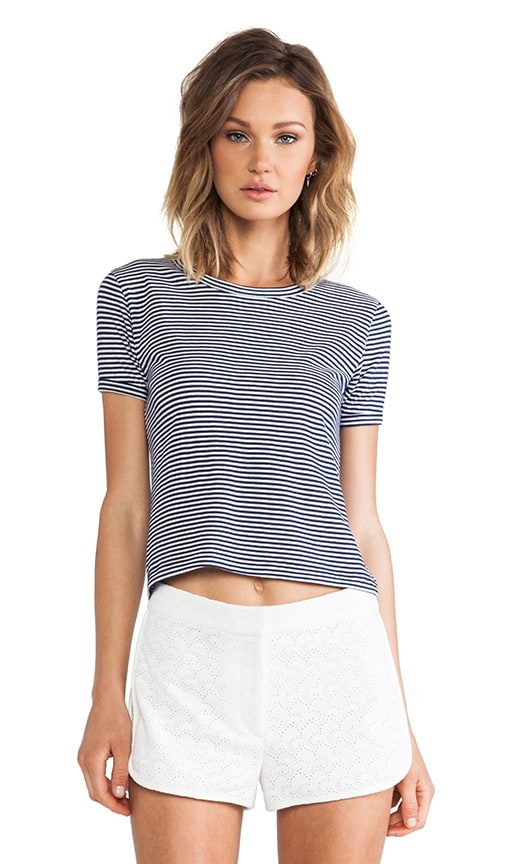 Cropped Crew Tee