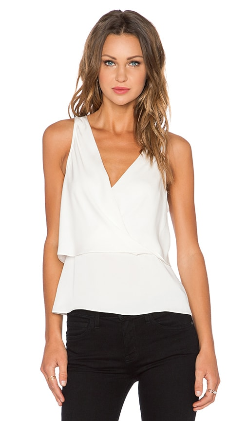 Theory Alizay Tank in Ivory