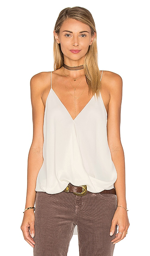 Theory Kashya Tank in Ivory