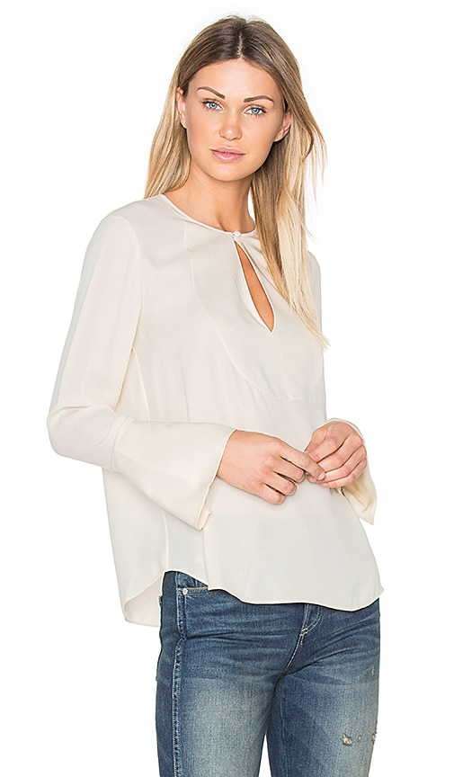 Theory Bahliee Top in Beige