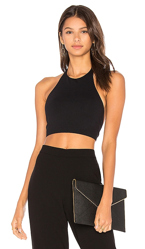 Theory Tubiolo Tank in Black