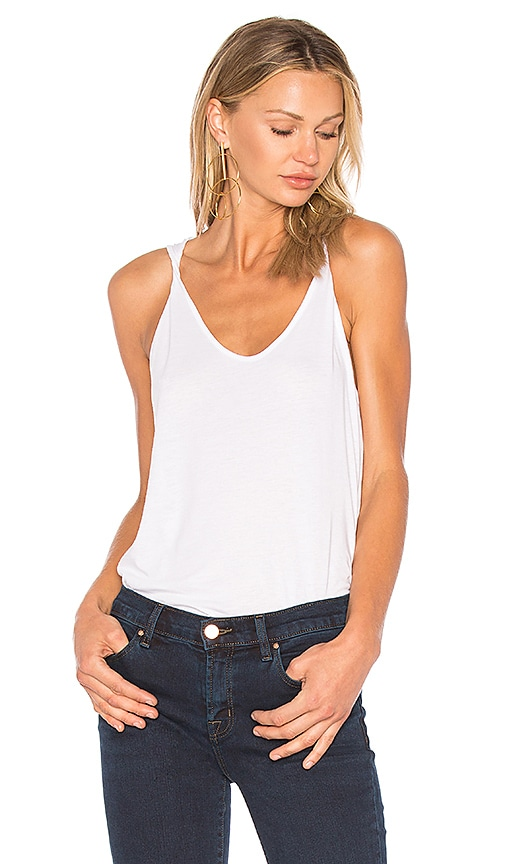 Theory Scarsdale Tank in White