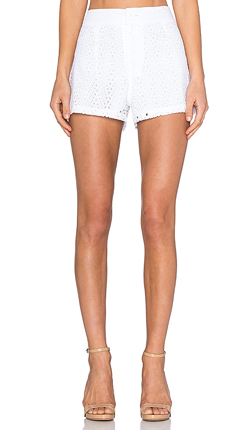 Three of Something Westward Mai Short in White