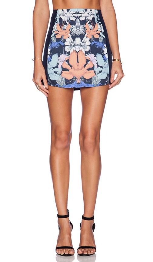 Hyper Floral Mini Skirt